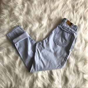 Vintage Lee High Waisted Tapered Leg Mom Jeans